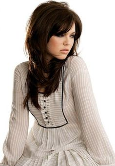 What I want my hair to look like ultimately    mandy moore long shag haircut