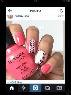 Geometrical nails..