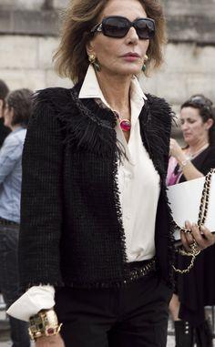 Moda en la calle en Paris Fashion Week: Naty Abascal