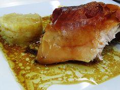 Receta de gorrín asado. Un plato muy rico y más fácil de hacer de lo que parece a simple vista.