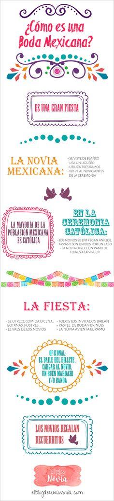 ¿Cómo es una boda mexicana? | El Blog de una Novia | #boda #mexicana