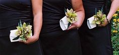 Power to Personalize Your Wedding: Wedding Trend: Bridesmaid Clutches intead of Bouquets?!