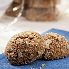 Orange Spice Molasses Cookies.