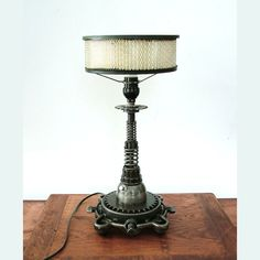 Industrial Table Lamp: Tesla Coil.