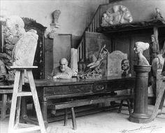 Antoine Bourdelle  L'atelier Auguste Rodin, Antoine Bourdelle, Principles Of Art, Paris Ville, Albrecht Durer, Magic Art, Renaissance Art, Illuminated Manuscript, Op Art