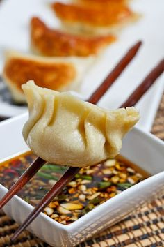 Chinese New Year Recipes>> Jiaozi (Chinese Dumplings)