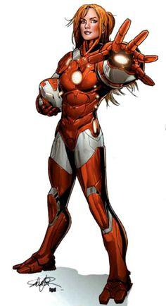 Rescue - Marvel Comics Database. I love Pepper.