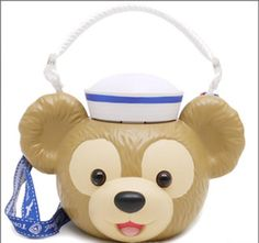 JAPAN Tokyo Disneyland Disney SEA Resort Popcorn Bucket DUFFY BEAR 2014 MASCOT