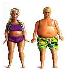 Fat Barbie Doll | Fat Ken Barbie