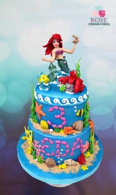 Dancing Ariel Cake - Cake by Rose Dream Cakes