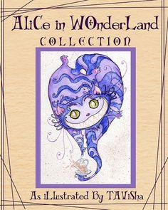 Alice in Wonderland Print Collection by Tavisha on Etsy