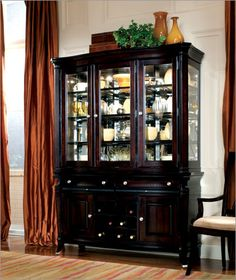 Love this china cabinet too!!