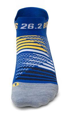 Hawaiian Blue Feetures Unisex High Performance Cushion No Show Tab Socks