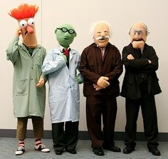 The Muppets #cosplay | Anything Goes School of Masquerade Arts, SDCC 2009