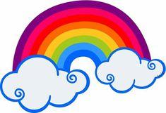Arcoiris Rainbow Unicorn Party, Rainbow Birthday Party, Unicorn Birthday, Love Rainbow, Rainbow Theme, Rainbow Colors, Rainbow Clipart, Clip Art, Templates Printable Free