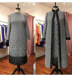 Abaya Fashion, Muslim Fashion, Couture Fashion, Fashion Dresses, Cute Girl Dresses, Stylish Dresses, Ankara Dress, Dress Skirt, Hijab Dress