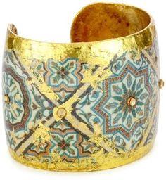 """ShopStyle: ÉVOCATEUR """"The Ancients"""" Pompeii Cuff Bracelet"""