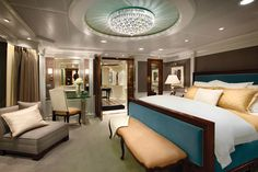 7 Cruise Ship Suites Giving Five-Star Hotel Rooms a Run For Their Money