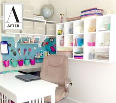 Before & After: This Organized Wall Storage is a DIY Dream