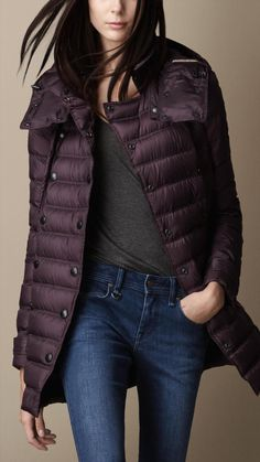 Burberry Heritage Down-Filled Puffer Jacket on shopstyle.com Canada Goose  Jackets, Burberry 4e5fa0559f5