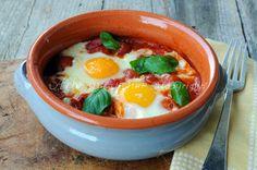 Uova in purgatorio ricetta napoletana facile