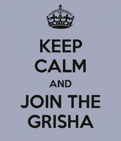 Keep Calm And Join The Grisha #ShadowAndBone #FierceReads  http://www.goodbooksandgoodwine.com/2012/06/shadow-and-bone-leigh-bardugo-book-review.html