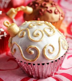 Christmas Bubbles - Gingerbread Cupcakes