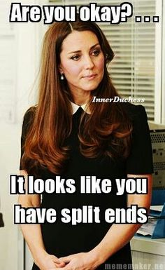 Ooh. I'm guilty. I've disappointed Kate. :(