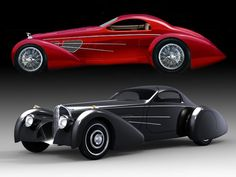 1937 Delahaye 'Bella Figura' and Bugnotti Coupe Sexy Cars, Hot Cars, Classic Sports Cars, Classic Cars, Retro Cars, Vintage Cars, Art Deco Car, Bugatti, Roadster