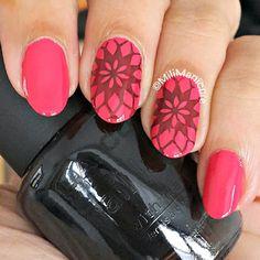#pink #black #moyoulondon