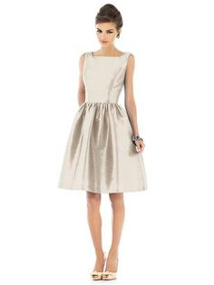 bridesmaid dress champagne