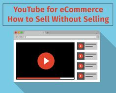 YouTube for eCommerce: How to Sell Without Selling  #youtube #socialmediamarketing #sourcesoft Social Media Marketing Companies, Social Media Services, You Youtube, Ecommerce, Branding, Amazing, Things To Sell, Brand Management, E Commerce