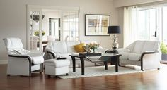 Ekornes Stressless Eldorado High-Back Sofa | Ambiente Modern Furniture