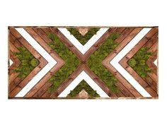 Reclaimed Wood Wall Art, Wooden Wall Art, Diy Wall Art, Large Wall Art, Wall Wood, Diy Wood, Diy Art, Moss Wall Art, Moss Art