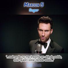 Traducción: #Maroon5 - #Sugar | #V http://transl-duciendo.blogspot.com.au/2015/01/maroon-5-sugar-azucar.html