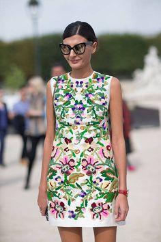 Street Style Paris Fashion Week Spring 2014 - Paris Fashion Week Spring Street Style - Harper's BAZAAR