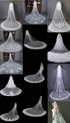 Largest collection of Elegant & Beautiful Unique Vintage And Modern Bridal Weddi. - Largest collection of Elegant & Beautiful Unique Vintage And Modern Bridal Wedding Veils & Headpiec - Veil Diy, Diy Wedding Veil, Boho Wedding, Dream Wedding, Trendy Wedding, Wedding Flowers, Diy Flowers, Wedding Bands, Wedding Country