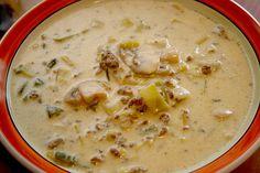 Champignon - Porree ( Lauch ) - Käse - Curry - Suppe, ein sehr schönes Rezept aus der Kategorie Eintopf. Bewertungen: 49. Durchschnitt: Ø 4,3.