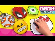 DIY✔ TAPETES PARA MOUSE personalizados (Mousepad) ★Así o más fácil★ - YouTube