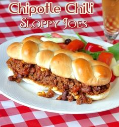 Chipotle Chili Sloppy Joes Here's my favorite new smoky flavored chili recipe that we use at our house to make the most amazing Sloppy Joes on homemade sour dough rolls. There is a link to the sour dough bread recipe at the end of the recipe. Soak 1 to 1 ½ cups dry kidney beans …
