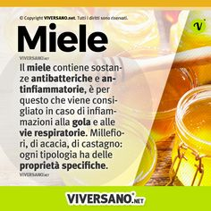 Miele: tutti i benefici e le proprietà per ogni tipologia Honey ? contains antibacterial and anti-inflammatory substances, which is why it is recommended in case of inflammation of the throat and resp Keto Nutrition, Greens Recipe, Food Hacks, How To Lose Weight Fast, Health And Beauty, Natural Remedies, Acacia, Food And Drink, Health Fitness
