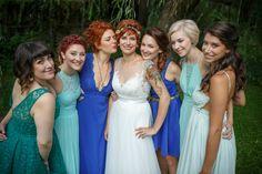 jewish bride and her ladies