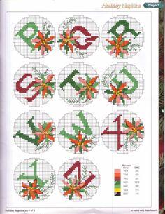 Christmas alphabet 3