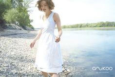 anukoo dress, G. Spring Summer 2015, White Dress, Cotton, Collection, Dresses, Fashion, Gowns, Vestidos, Moda