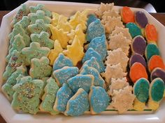 Christmas Cookies! Ingredients: Eggs, sugar, crisco, sour cream, baking soda, baking powder, salt, vanilla, flour