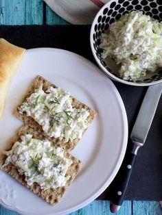Kapros-uborkás túrókrém recept