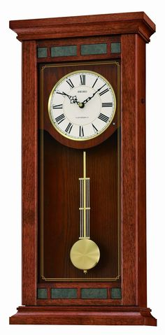 Amazon.com: Seiko QXM489BLH Wall Musical Collection Pendulum Clock: Watches