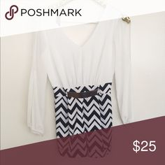 gorgeous black/white romper with gold buckle bought from a local boutique and wore once. has arm slits for a sexy fit. gold buckle on the front of shorts. sooooo cute. H&M Other