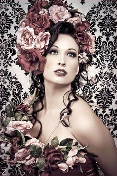 Vintage Rose   by *zairia
