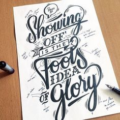 Lettering & Calligraphy Inspiration | #1286